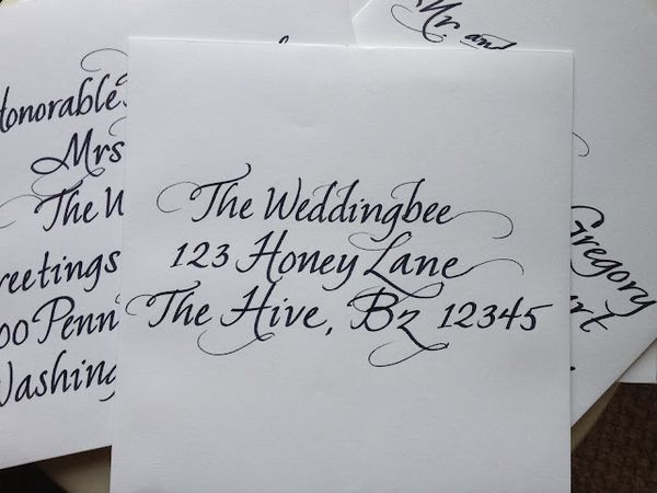 Should Wedding Invitations Be Hand Addressed: Stationery & Handwriting
