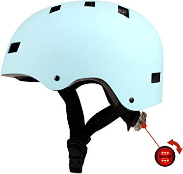 Amazon Com Osco Design Adult Helmet With Led Safety Light