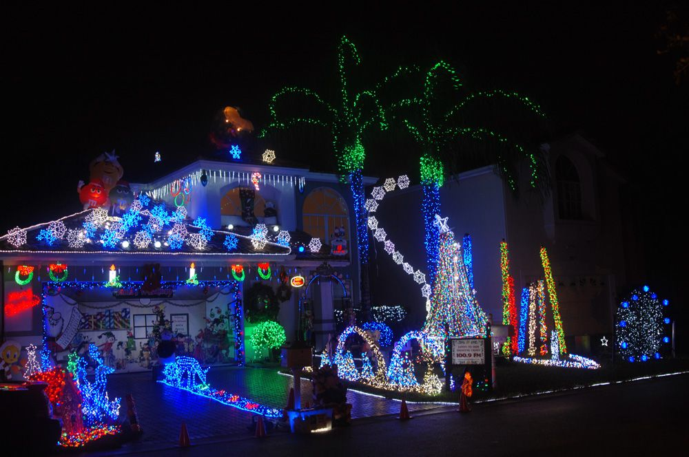 christmaslights best places to see christmas decorations cbs miami