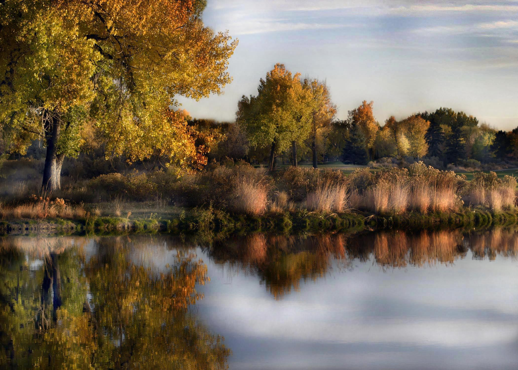 Обои Облака, необыкновенно, Пейзаж, яркие тона. Природа foto 18