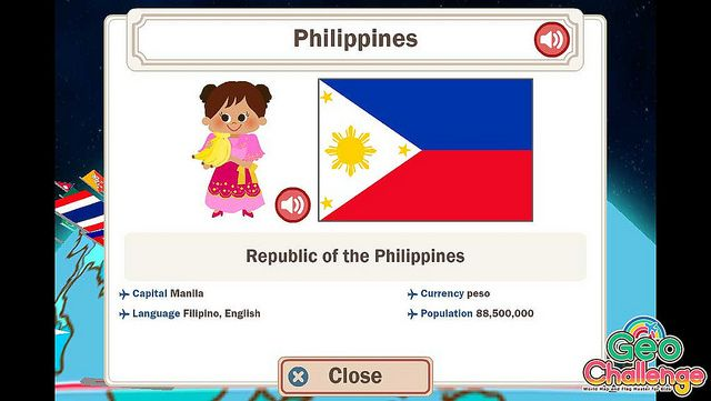 Geo Challenge - Philippines Geo, Philippines and Country maps - new apple app world map