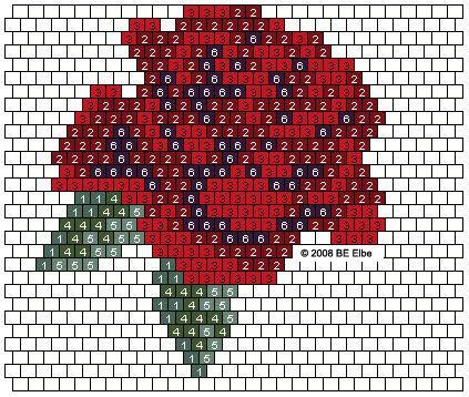 Seed Bead Pattern Rose Rose Purse Pattern Designed