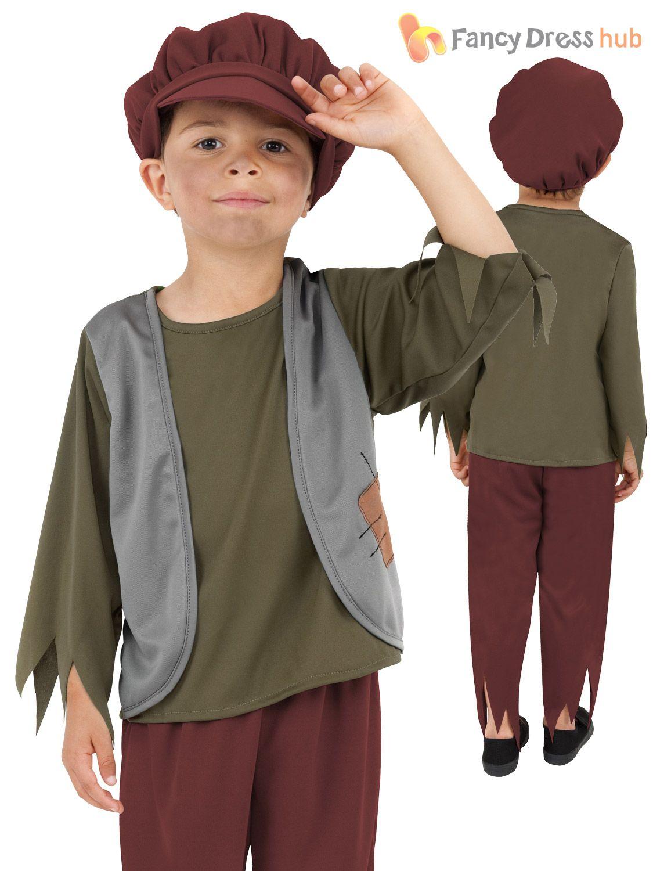 OLIVER TWIST VICTORIAN BOY PEASANT CHILD BOYS BOOK WEEK COSTUME