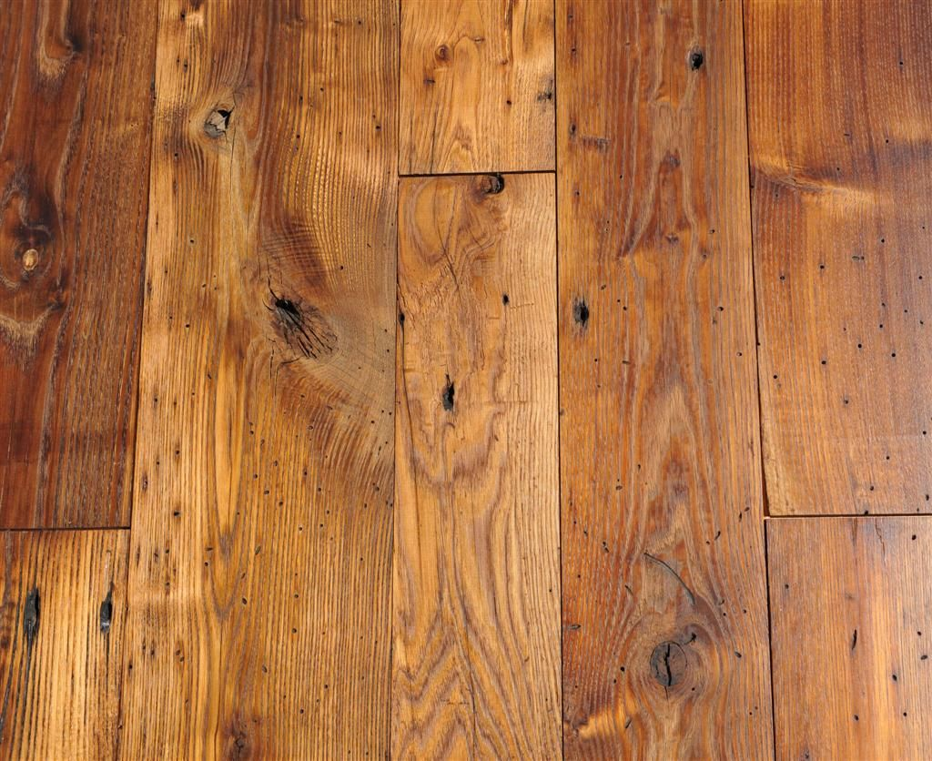 A green cleaner & polish for unfinished wood floors. - If You're Attracted To Antique Wooden Floors, Saving An Old Floor
