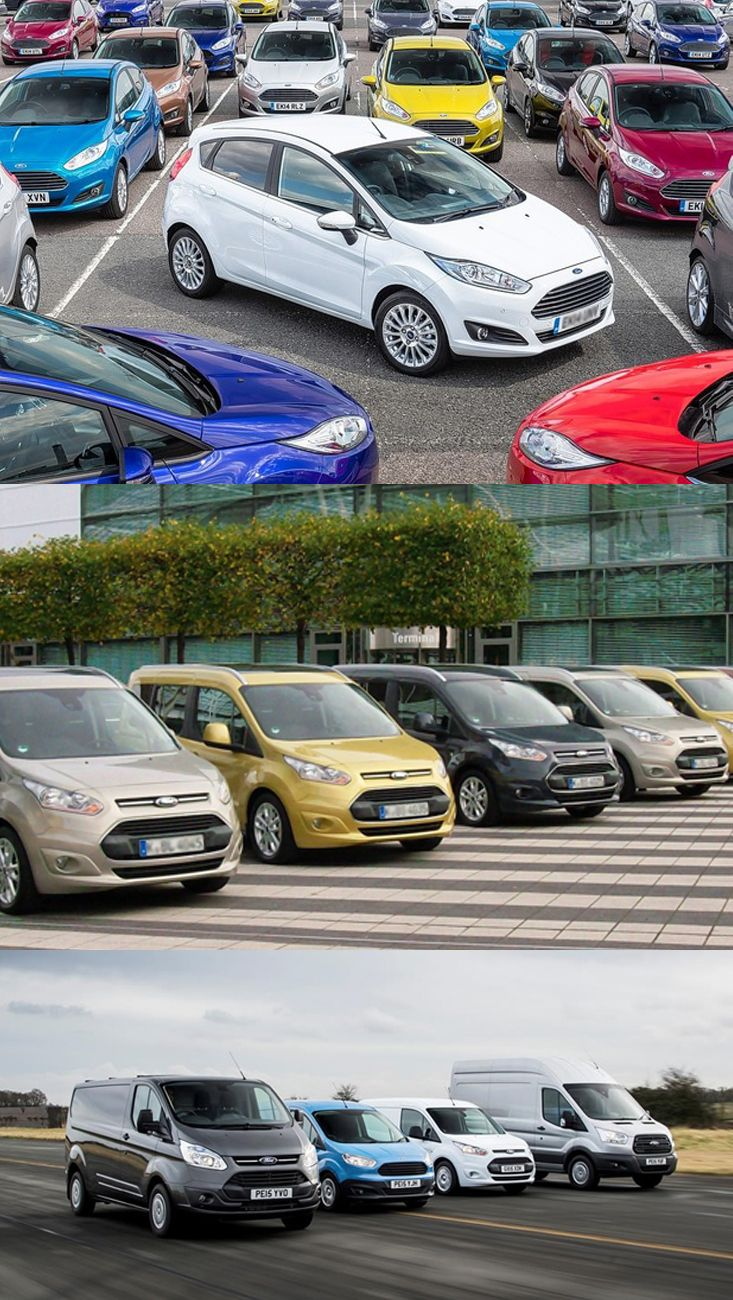 UK Market Dominated By Ford Ford, Commercial vehicle