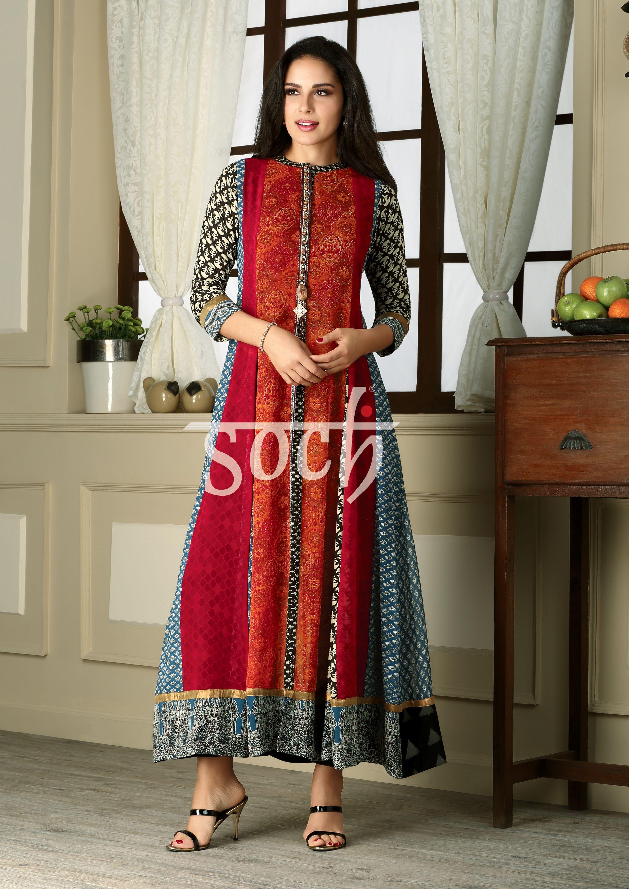 af2d6fa68c Long Kurtis, Kurti Patterns, Daisy Dress, Ethnic Fashion, Indian Fashion,  Indian. Visit. January 2019