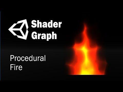 Гайд как создать процедурный огонь c помощью Shader Graph в Unity 3D