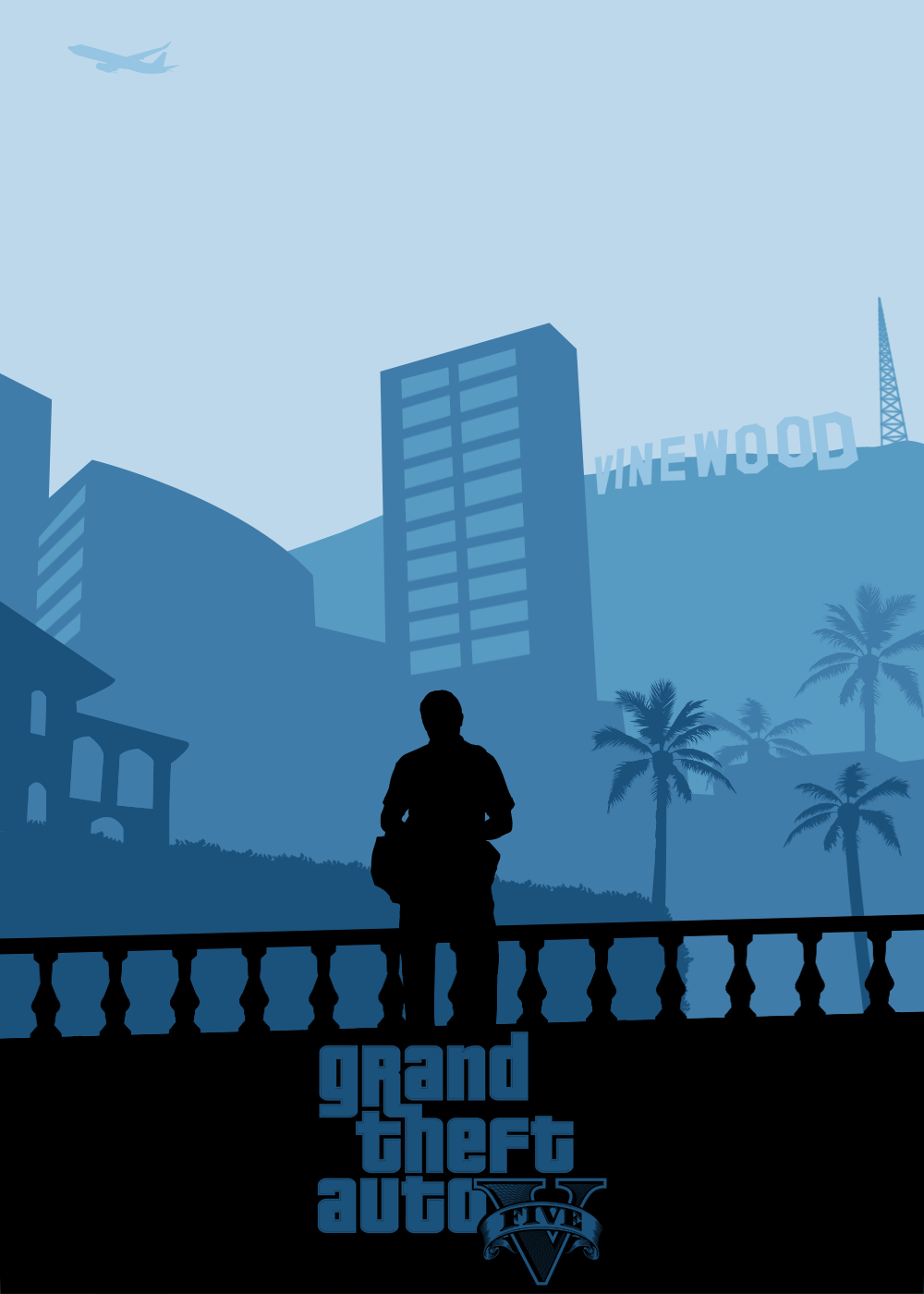 Grand Theft Auto poster Set