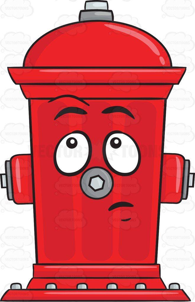 Clueless Look On Fire Hydrant Emoji Fire Hydrant Hydrant Kiss Emoji