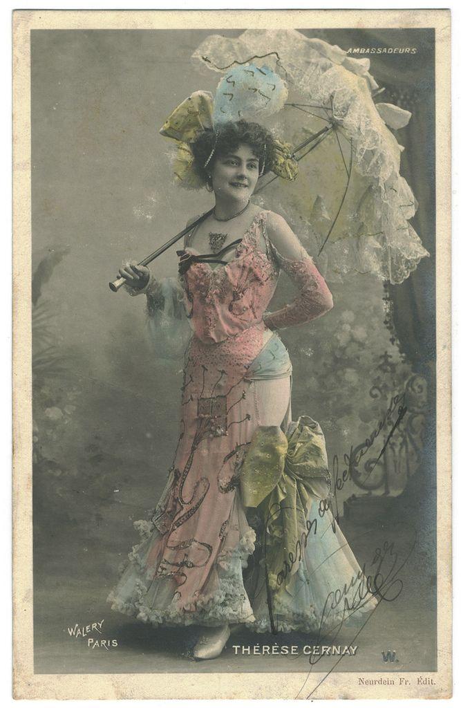 Therese Cernay | CERNAY, Thérèse_Neurdein. Théâtre Ambassadeurs. Photo Waléry