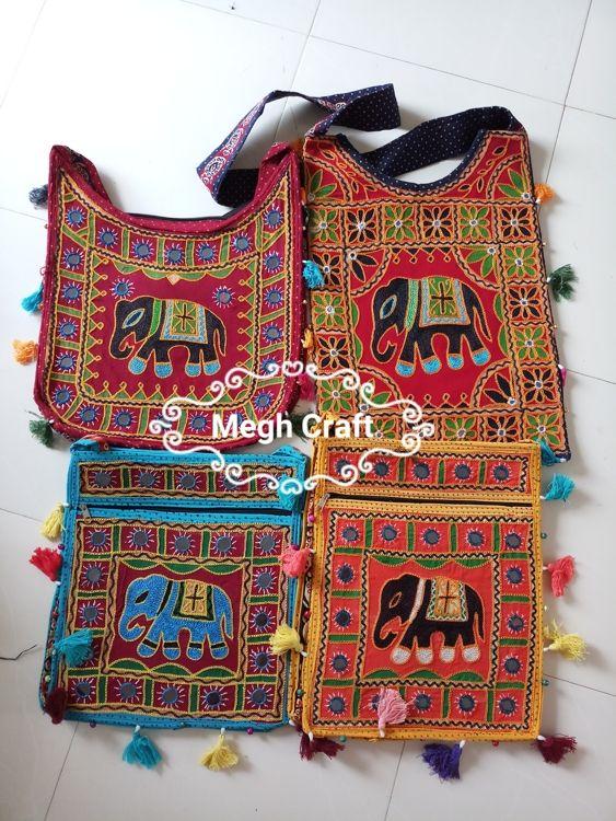 05fc053873 Gujarati Mirror work Hobo Handbag Pakistani Embroidery Banjara ...
