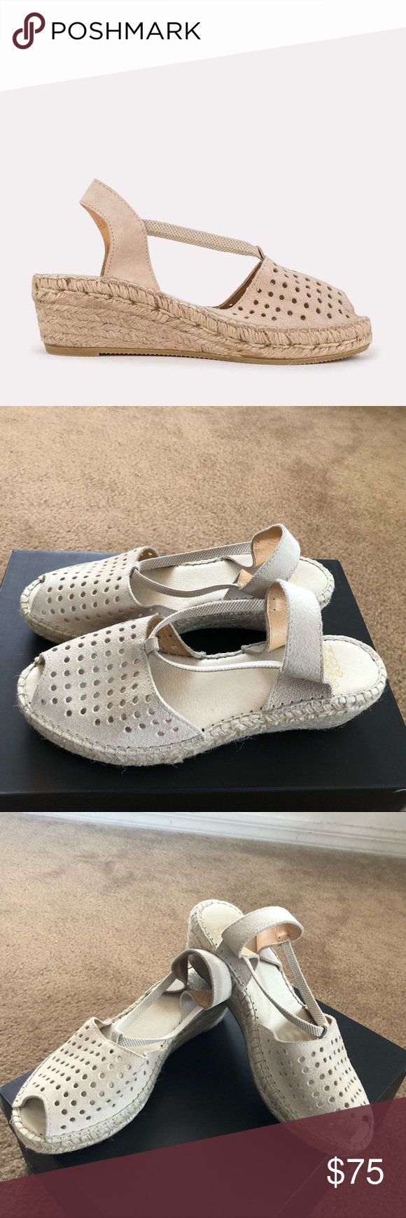 1e248871c New  Andre Assous  Corrine suede espadrille sandal NWT in 2018