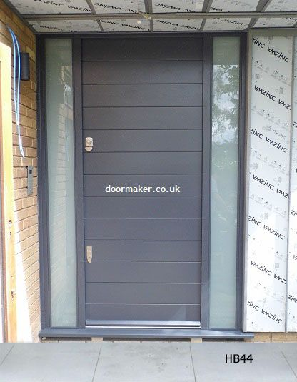 Contemporary Front Doors, oak iroko and other woods, Bespoke Doors ...