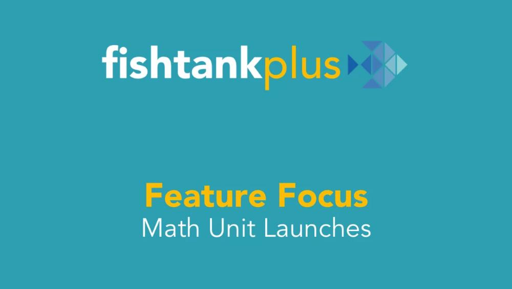 Match Fishtank Fishtank Plus in 2020 Math courses