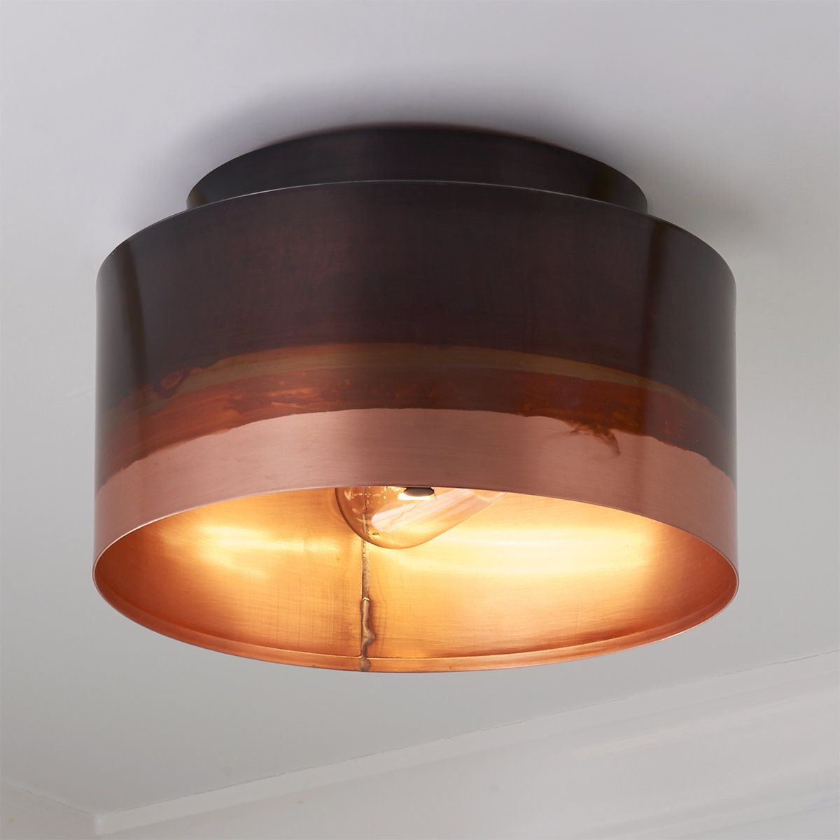 Copper Ombre Ceiling Light Ceiling Lights Copper Ceiling Lights Copper Ombre