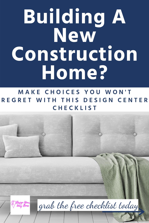 New Ultimate New Construction Home Design Center Checklist New Home Designs Design Center Showroom Interior Design Diy