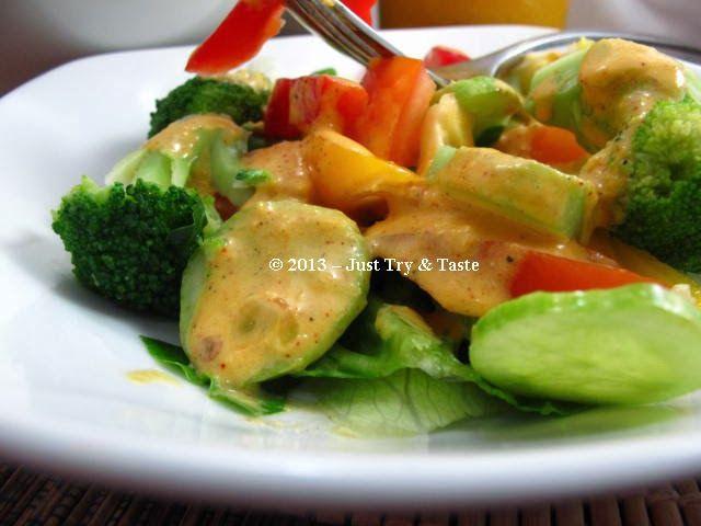 Salad Sayur Dengan Dressing Jeruk Sunskist Resep Makanan Sehat Makanan Dan Sayuran