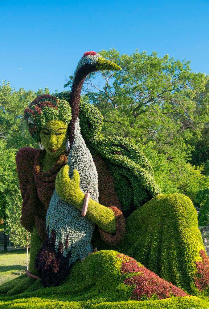 Garden Art, Montreal Garden Sculpture