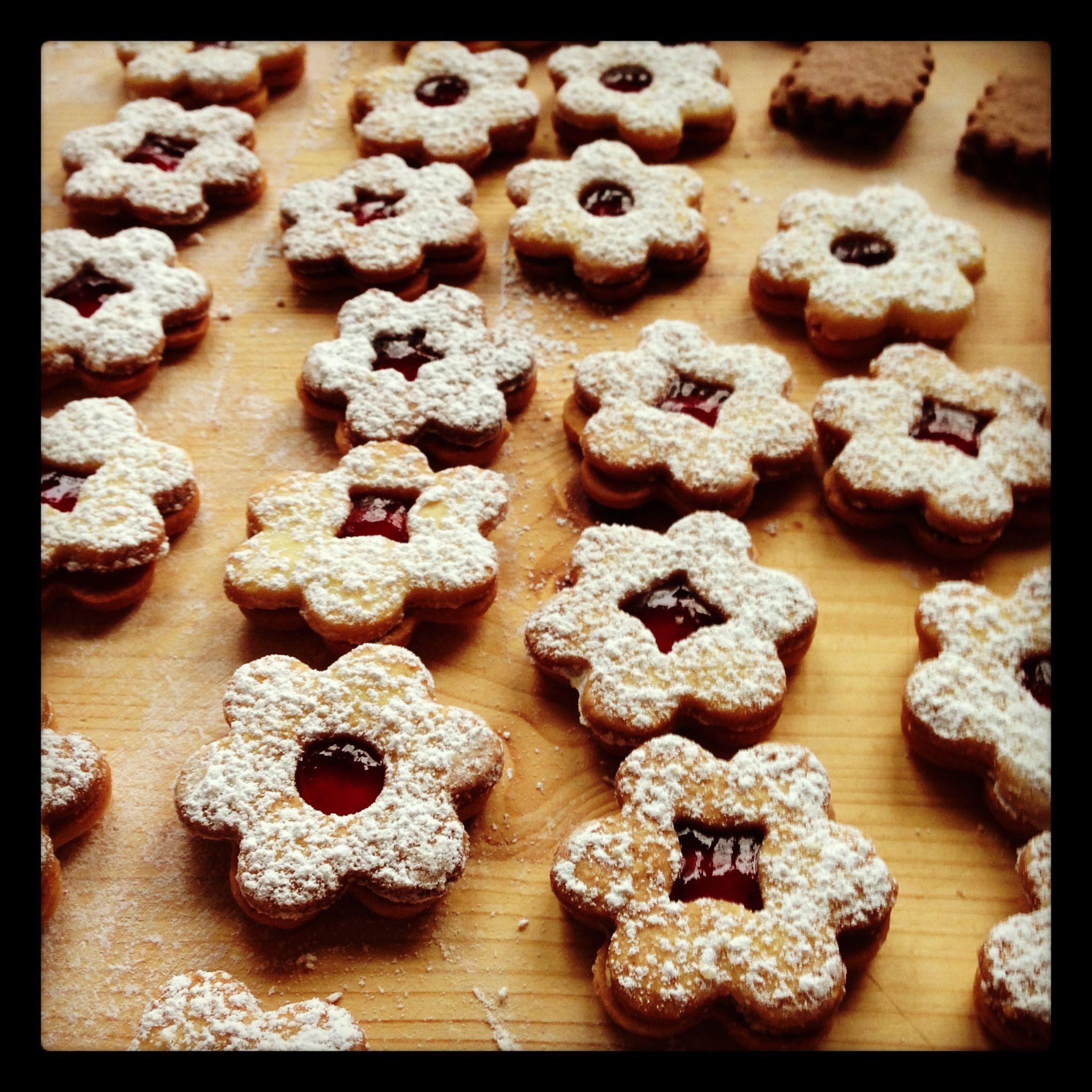 Weihnachtsbäckerei.