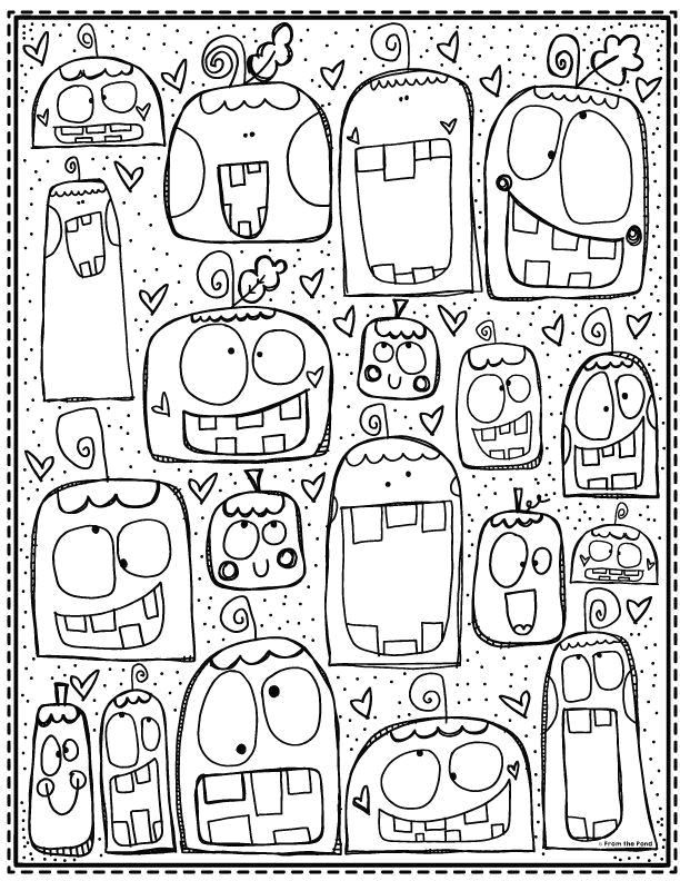 Stupid Pumpkin Coloring Page Tabea Mr Blog Fool Pumpkin Coloring Pages Pumpkin Coloring Pages Detailed Coloring Pages Doodle Coloring