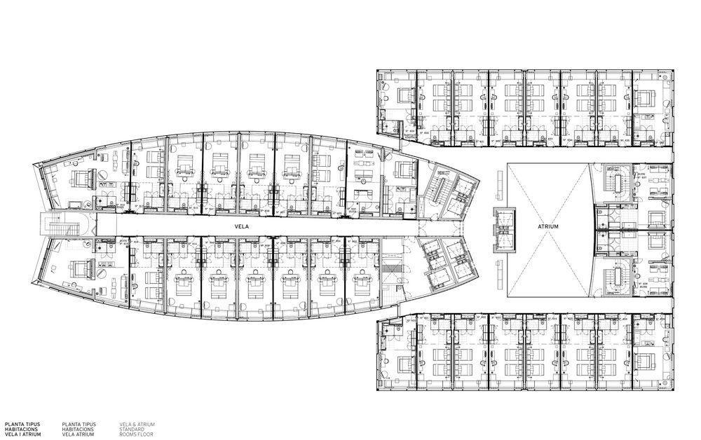 """Hotel Floor Plan Design: Résultat De Recherche D'images Pour """"architecture Hotel"""