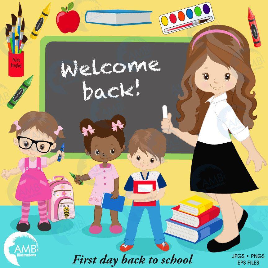 back to school clipart classroom clipart teacher clipart student rh pinterest com Classroom Helpers Classroom Supplies Clip Art