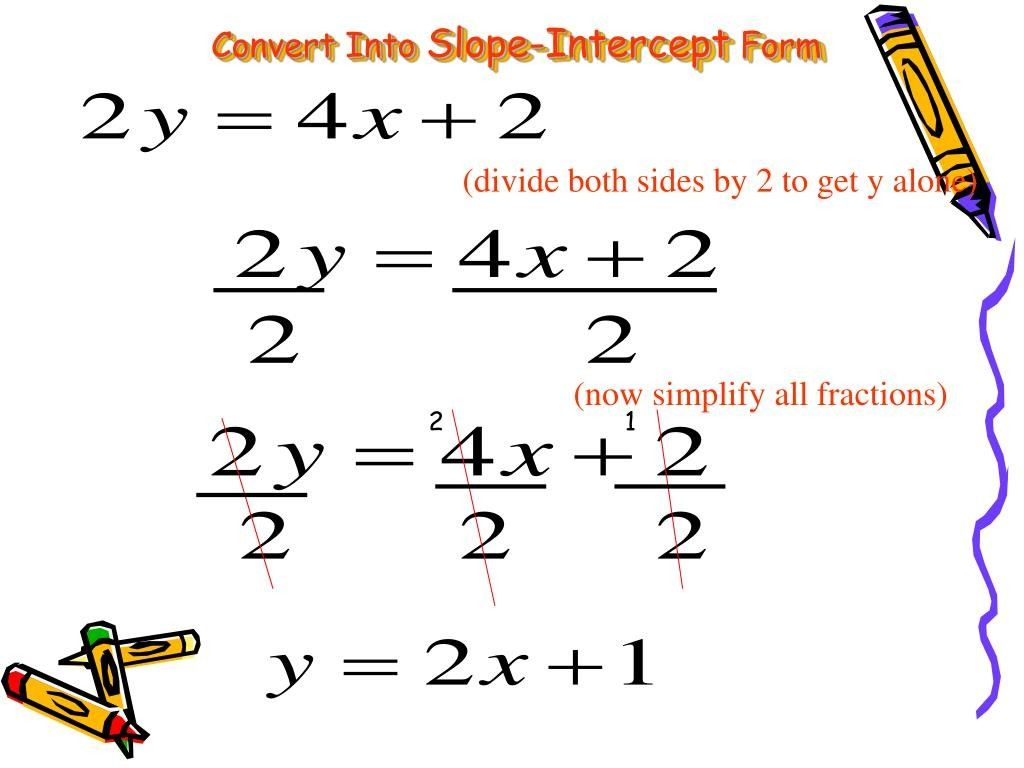 Slope Intercept Form Conversion Seven Stereotypes About