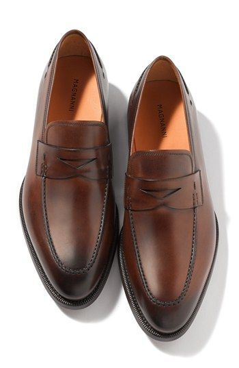 Magnanni 'Tevio' Penny Loafer (Online Only) | Nordstrom