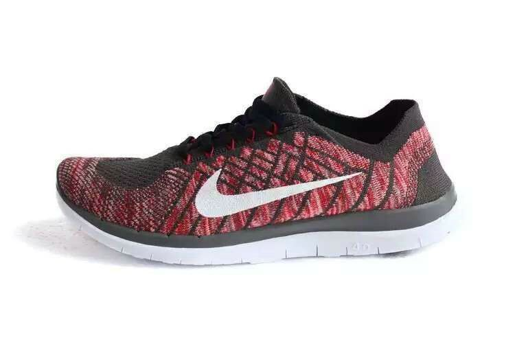 the latest c9a3c e0e53 ... get nike free 4.0 flyknit hot red black buy cheap cheap nike running  shoes nike 2375c