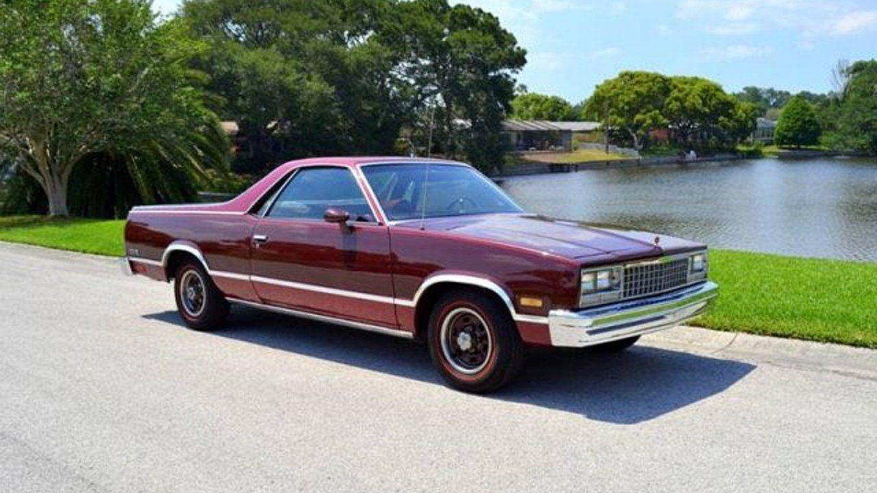 1983 Chevrolet El Camino V8 For Sale 100874574 Chevrolet El