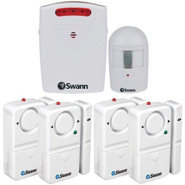 Swann Swhom Drivea Gl Driveway Alert Alarm Bundle Swann 815825013599 Driveway Alarm Window Alarms Door Alarms