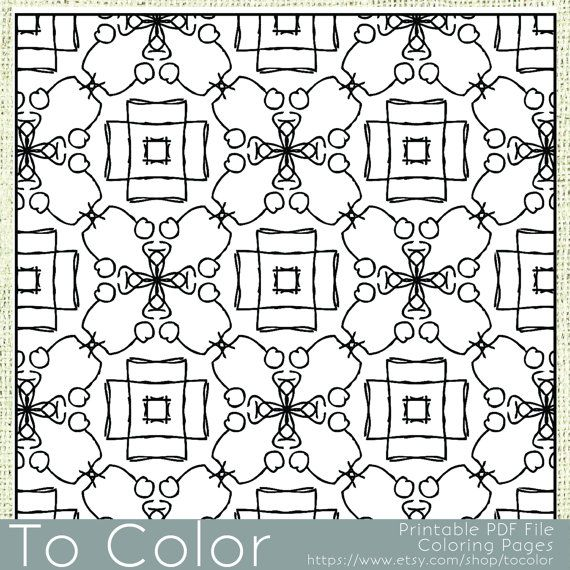 Printable Coloring Pages for Adults, All Over Large ...