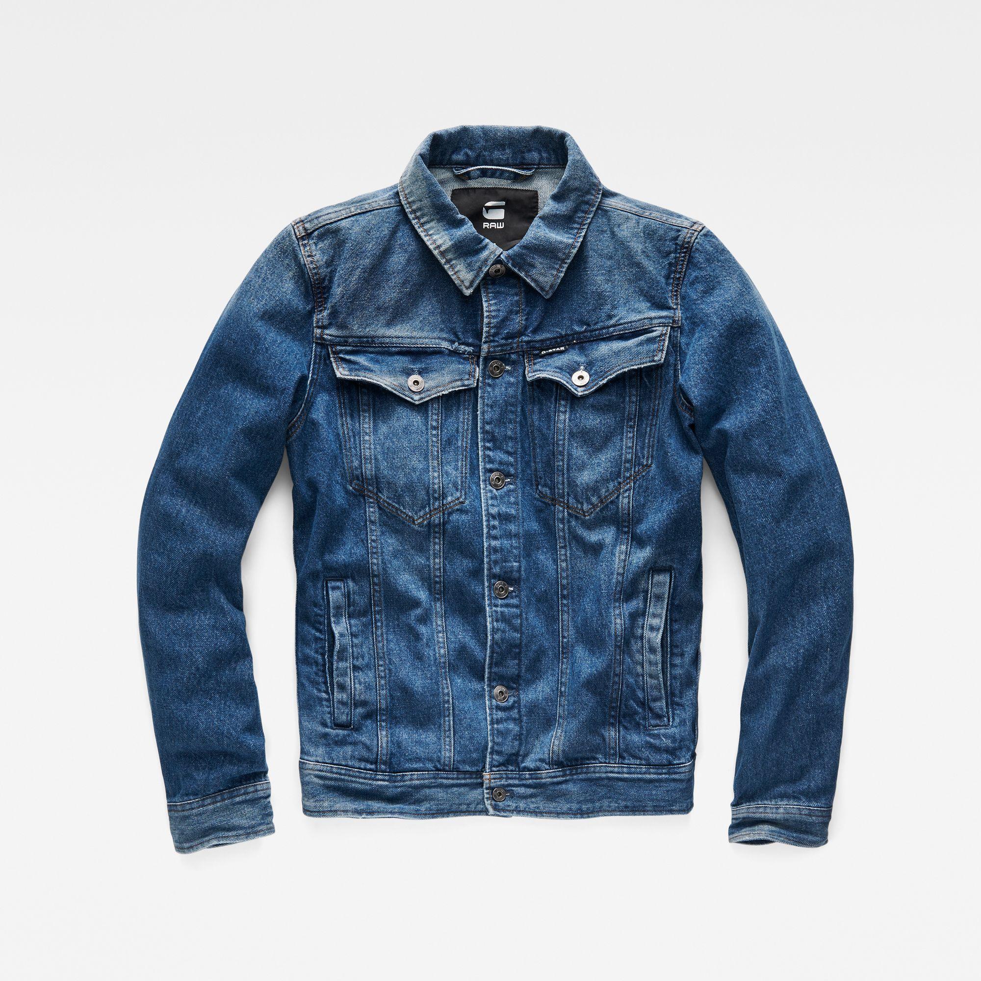 3301 Deconstructed 3D Slim Jacket | Tejanos