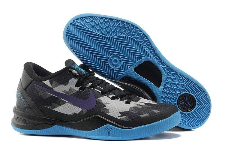 Nehmen Billig Gelb Billig Lila Schuhe Grau Deal Nike Kobe 8 555035 058