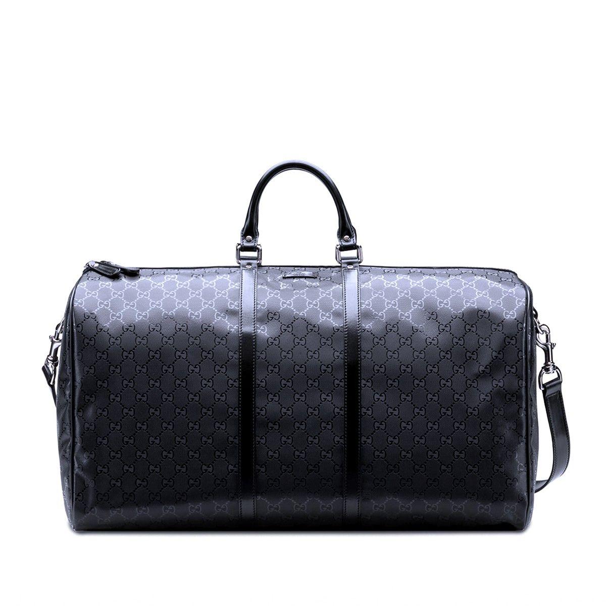 c92c2a7940f0 Gucci black large GG imprime duffle | Replica Cheap Handbags | Gucci ...
