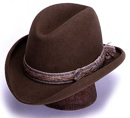 The Homberg - Texas Hatters in black Homburg dde06ef0686