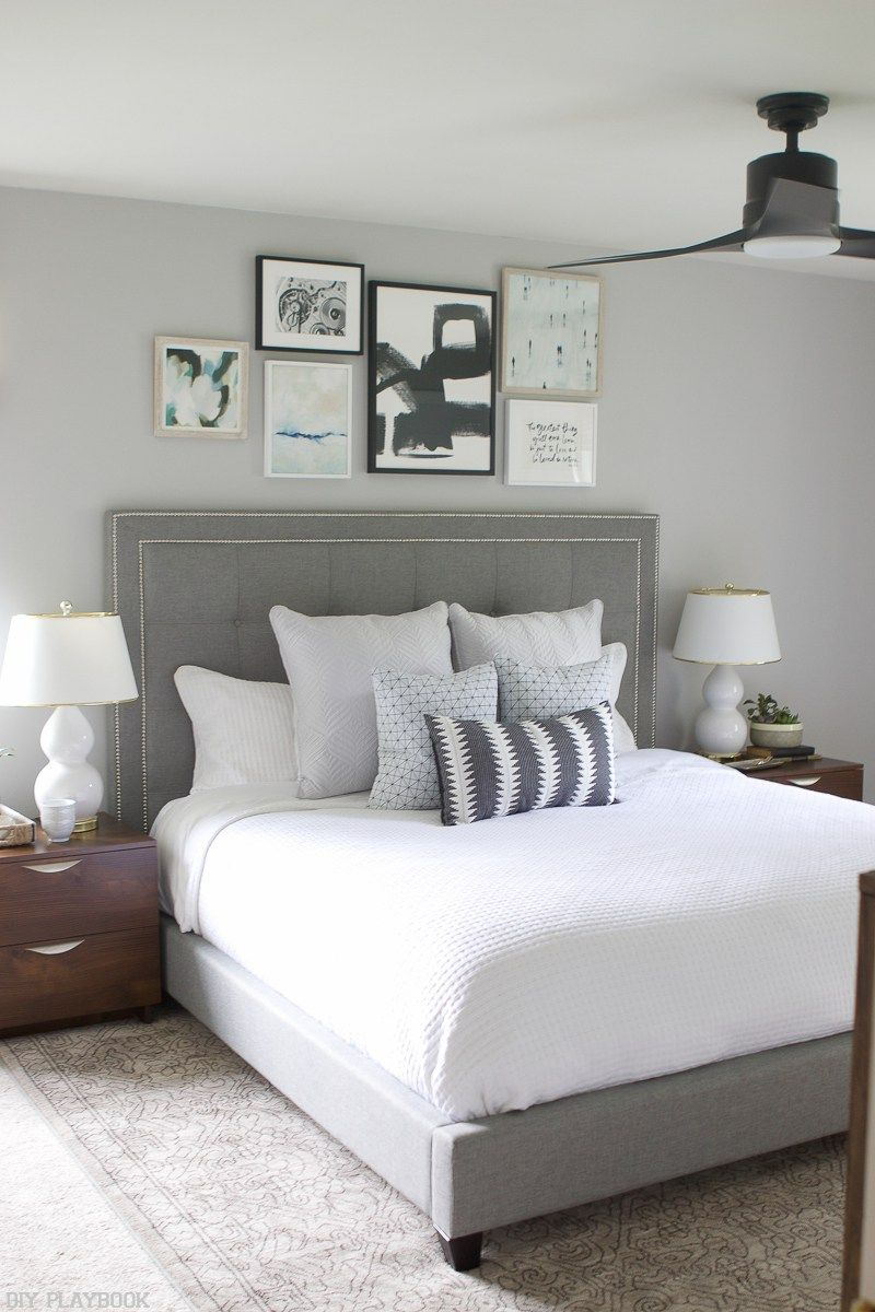 Neutral Bedroom Reveal with Loweus Home Improvement  Arredamento