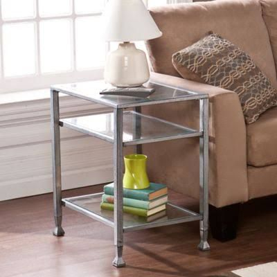 glass side table - Google Search