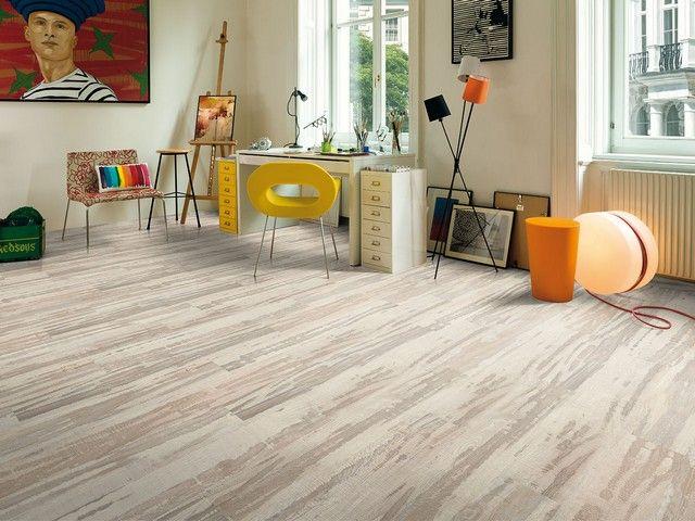 Laminato Rovere 1 Strip Design Moderno Pavimenti in