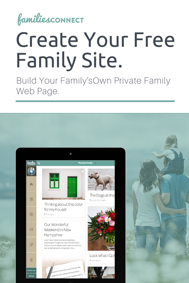 Create Your Free Family Site Your Family's Own Private Site. Build ...