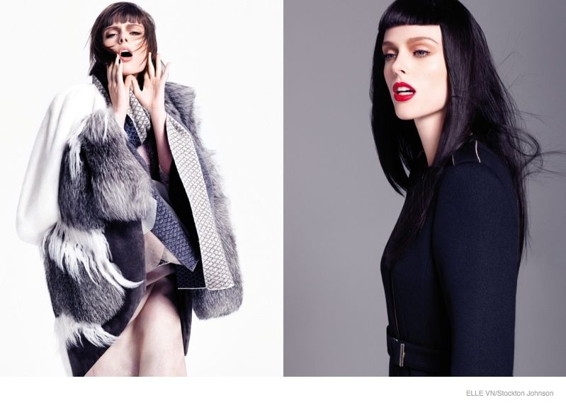 Coco Rocha Takes it To the Max for Elle Vietnam by ...
