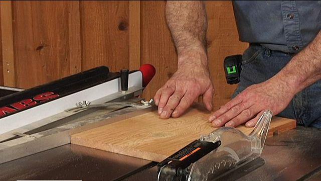 Double Taper Using A Taper Jig Tapering Jig Taper Jig