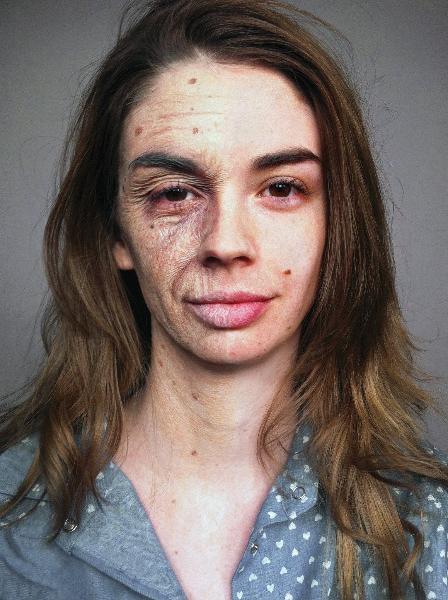 Stretchandstipple technique by FX makeup master Joel