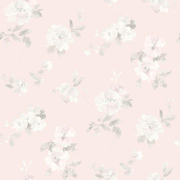 has54598 light pink floral toss