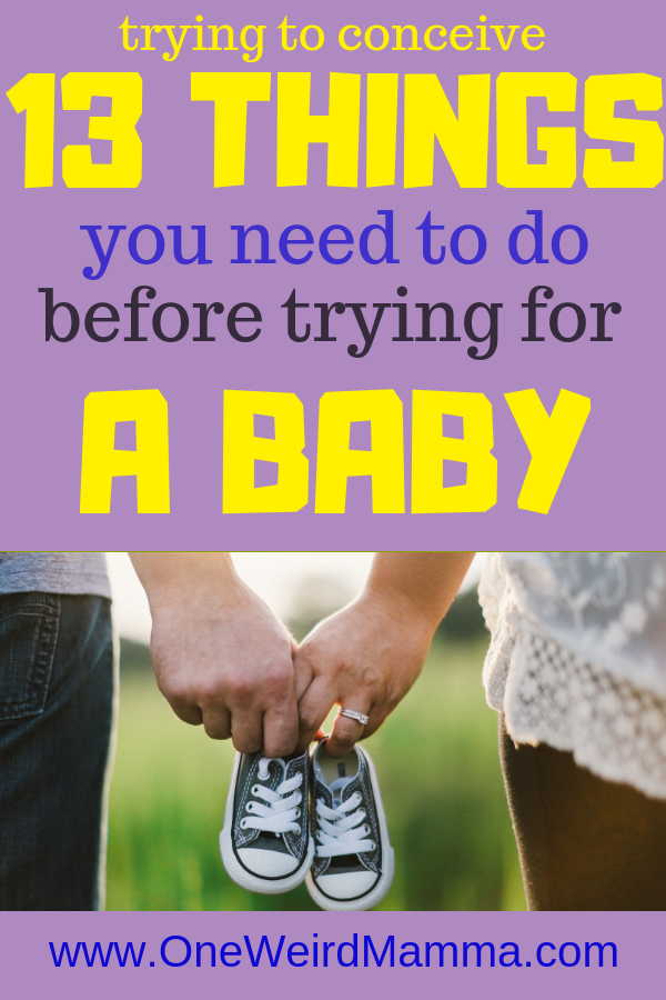13 Things you need to do Before Trying for a Baby | Harper