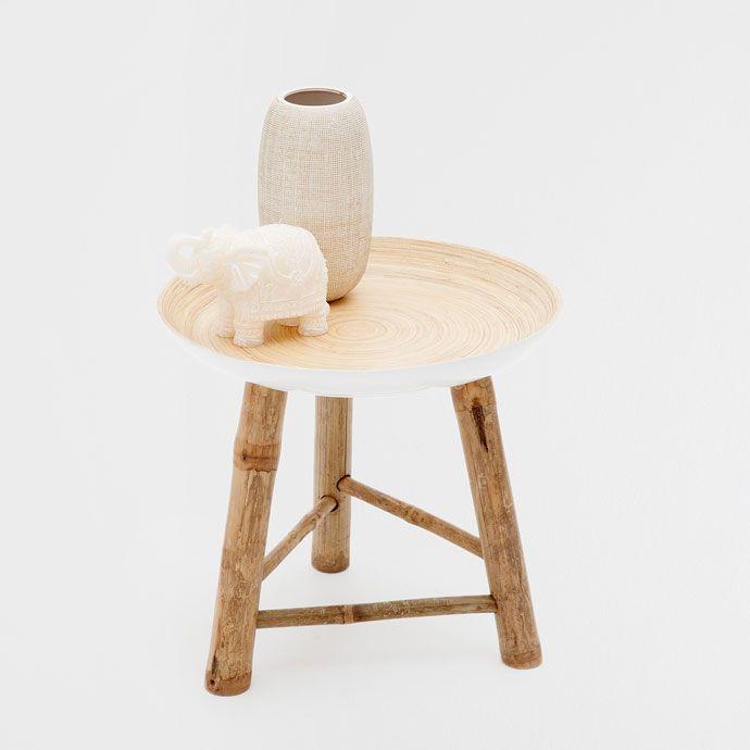 Zara Home Bambu 60 Con Imagenes Muebles Auxiliares