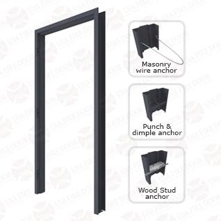 4000 Series 16ga Flush Mount Hollow Metal Door Frames Hollow Metal Doors Metal Door Door Frame