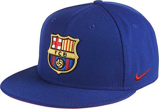 reputable site d6934 bff43 Nike Barcelona True Hat - Deep Royal Blue   Noble Red   SoccerMaster.com
