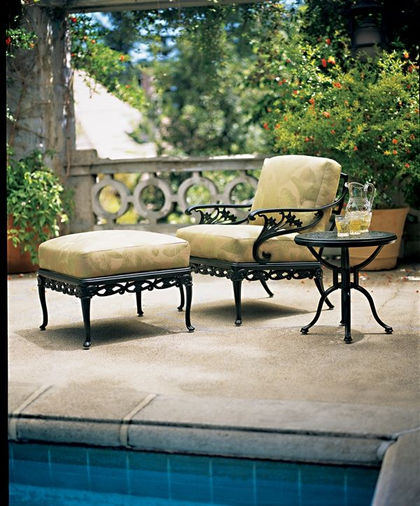 Day Lily II Lounge Chair From Brown Jordan. #OutdoorFurniture #Florida  #WestPalm #Patio #Furniture