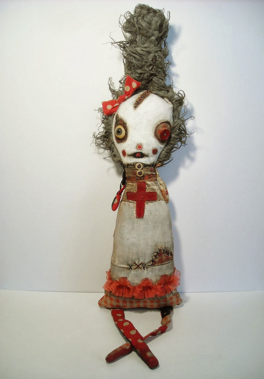 Junker Jane Art Dolls and Soft Sculptures: Parlor Gallery show Do-Re-Mi